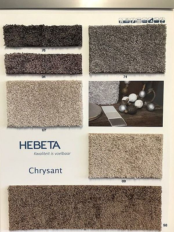 Chrysant 98 choco bruin